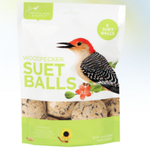 FEED PACIFIC BIRD WOODPECKER SUET BALLS 6PK