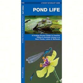 GUIDE POCKET NATURALIST: POND LIFE FOLDING GUIDE