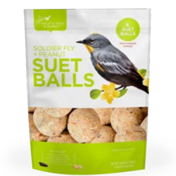 FEED PACIFIC BIRD SOLDIER FLY & HOT PEPPER SUET BALLS 6PK