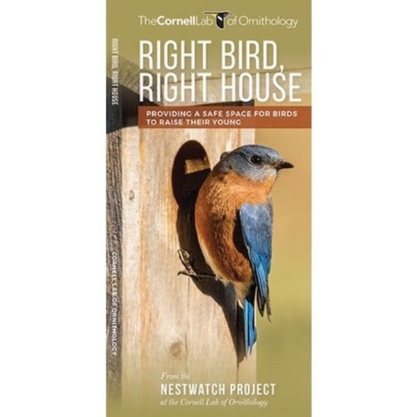 GUIDE CORNELL LABS RIGHT BIRD RIGHT HOUSE FOLDING GUIDE