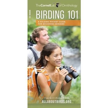 GUIDE CORNELL LABS BIRDING 101 FOLDING GUIDE