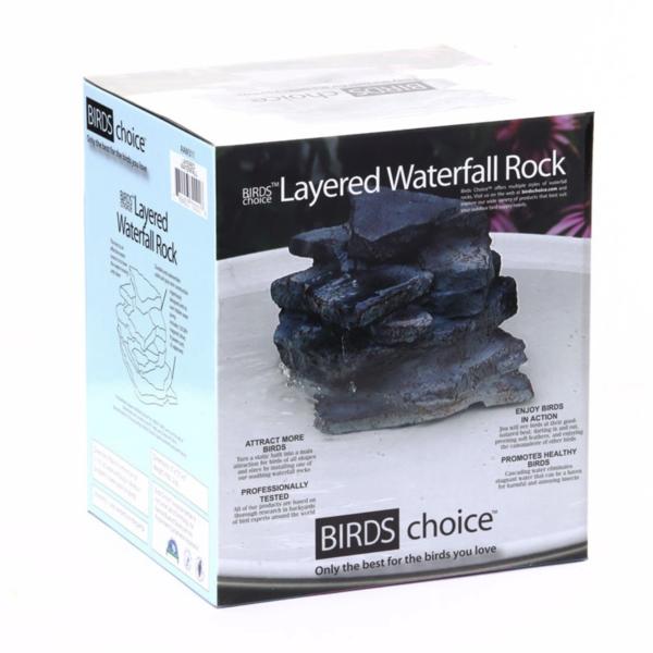 BATHS BIRDS CHOICE LAYERED WATERFALL ROCK