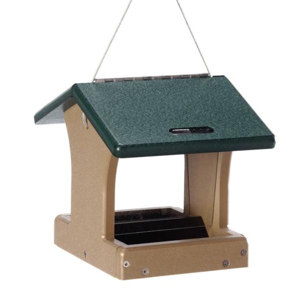 FEEDERS BIRDS CHOICE 1.5 QT. HOPPER FEEDER RECYCLED