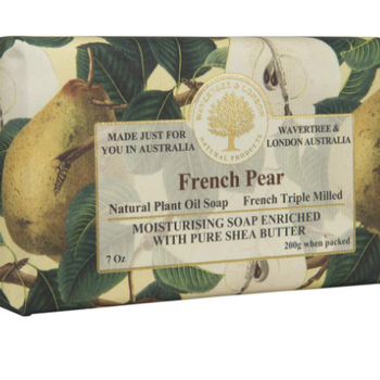 HHOLD AUSTRALIAN NATURAL SOAP FRENCH PEAR 7 OZ