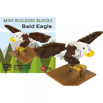 KIDS MINI BUILDING BLOCKS KIT BALD EAGLE 207 PC.