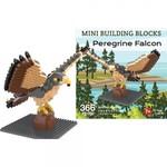 KIDS MINI BUILDING BLOCKS KIT PEREGRINE FALCON  372 PC.