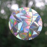 HHOLD WINDOW GEMS CIRCLES (PRISM)