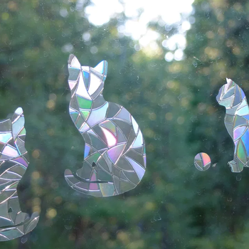 HHOLD WINDOW GEMS CATS (PRISM)