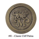 BATHS MASSARELLIS STONE FANCY SUNFLOWER BIRD BATH CLASSIC CLIFF PATINA 9760-81
