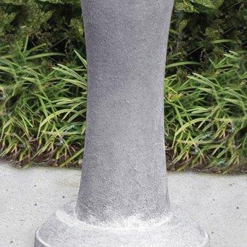 GARDEN MASSARELLIS STONE PEDESTAL FOR ETERNITY CROSS STATUE MEADOW BRONZE 8250-41