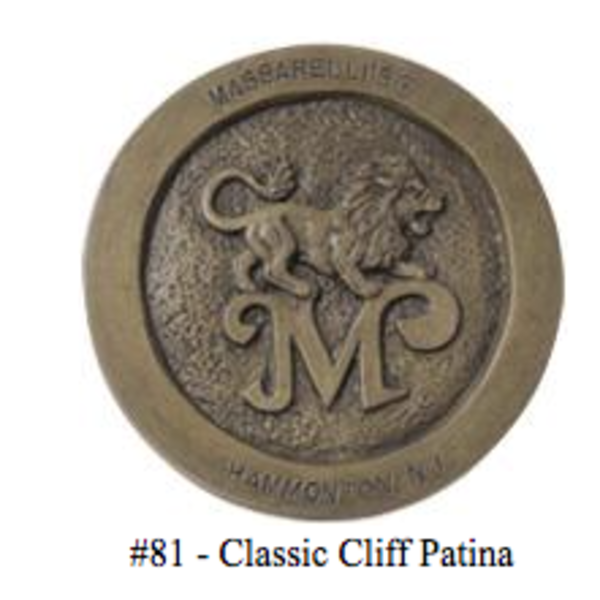 BATHS MASSARELLIS STONE TULIP BIRD BATH CLASSIC CLIFF PATINA 9709-81