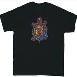CLOTHING LG LIBERTY GRAPHICS BOX TURTLE ADULT TSHIRT X1B BLACK