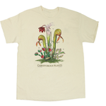 CLOTHING LG LIBERTY GRAPHICS CARNIVOROUS PLANTS ADULT TSHIRT 993 NATURAL