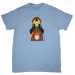CLOTHING LG LIBERTY GRAPHICS CHARLEY HARPERS OTTERLY DELICIOUS ADULT TSHIRT H24 STONE BLUE