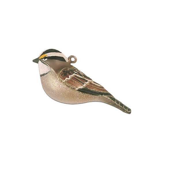 HHOLD COBANE WHITE-THROATED SPARROW ORNAMENT