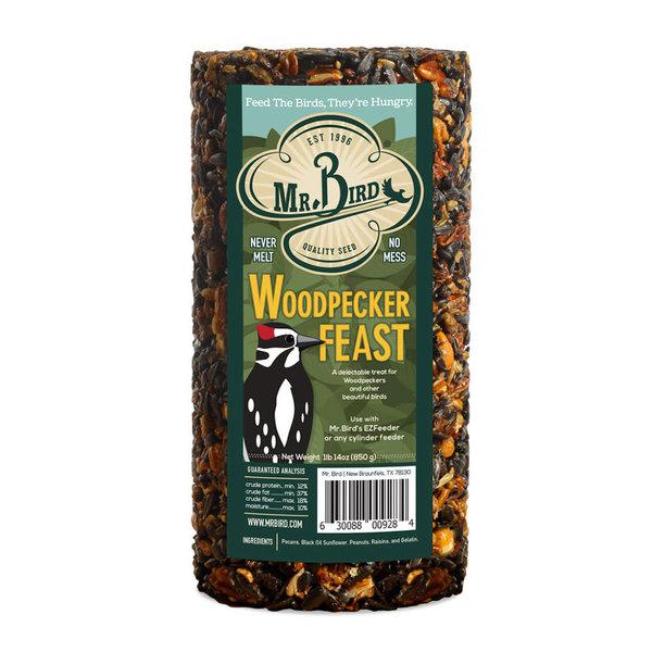 FEED MR BIRD WOODPECKER FEAST 28 OZ