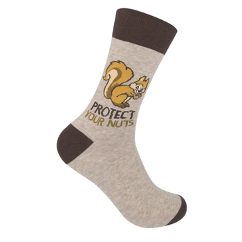 CLOTHING FUNATIC SOCKS PROTECT YOUR NUTS