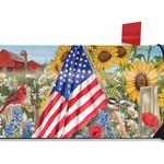 HHOLD BRIARWOOD LANE AMERICA THE BEAUTIFUL MAILBOX COVER