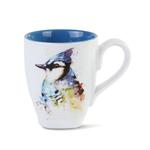 HHOLD DEMDACO BLUE JAY COFFEE MUG 16OZ