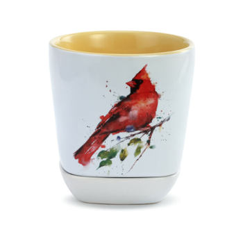 HHOLD DEMDACO SPRING CARDINAL CUP AND TRINKET SET