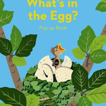 BOOK WHAT'S IN AN EGG BOOK