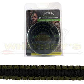 Jakt Gear Jakt Gear My Sling-A-Ling Magnetic Paracord Bow Sling - BLACK/OD GREEN