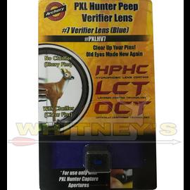 Specialty Archery, LLC Specialty Archery #7 Blue PXL Hunter Peep Verifier