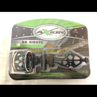 Axion Archery Axion RD-1 Single Pin Driver Sight Black - .19