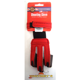 Neet Archery Products Neet Glove, Youth, NY-G2-N, Red, Reg.