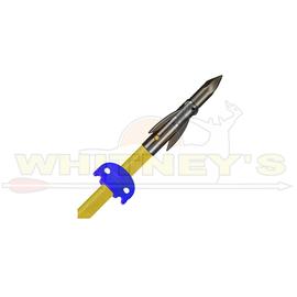 AMS AMS Bowfishing Lava Crux Carbon Cored Fiberglass Arrow Shaft W/AnKor FX Point & AMS Saftey Slide