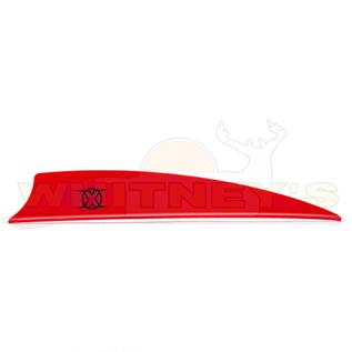 "Bohning Company, LTD Bohning X Vanes 3.5"" Shield Cut Neon RED 100PK- 10772NR35S"