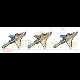 Trophy Taker Trophy Taker -Shuttle T-Lock -100 Grain - Fixed Blade Broadhead - CNC Machined