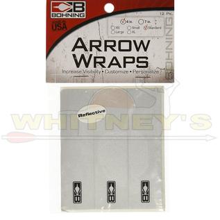 "Bohning Company, LTD Bohning Wrap 4"" Standard White- 501031WH"