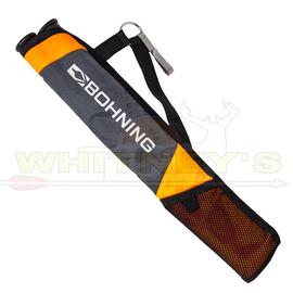 Bohning Company, LTD Bohning Tube Quiver - Gray & Orange
