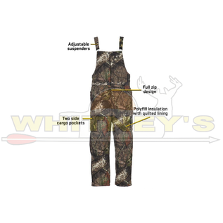 Shield Series Blocker Outdoors Drencher Insulated Bib MO Country - 2X-LARGE