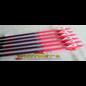 Black Eagle Black Eagle Outlaw Arrows - Pink Crested - 400- Half Dz.