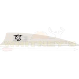 "Bohning Company, LTD Bohning X Vanes 3.5"" Shield Cut WHITE 100PK- 10772WH35S"