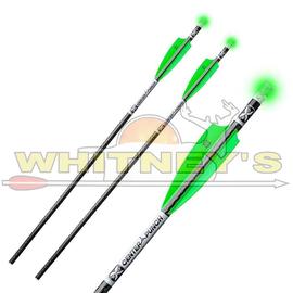 "TenPoint Tenpoint 20"" EVO-X Lighted Centerpunch Carbon arrows - 3pk"