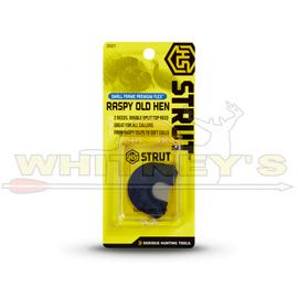 HS/Hunters Specialties HS Strut Premium Flex Small Frame Raspy Old Hen Diaphragm Call