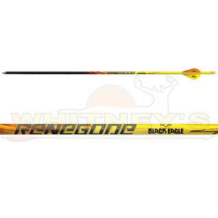 Black Eagle Black Eagle Renegade Fletched Arrows - 250 Spine- Hal Dz.