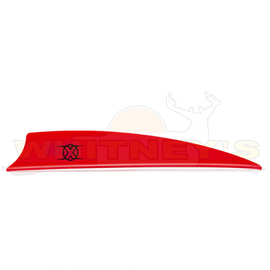 "Bohning Company, LTD Bohning X Vanes 3"" Shield Cut Neon RED 100PK- 10772NR3S"