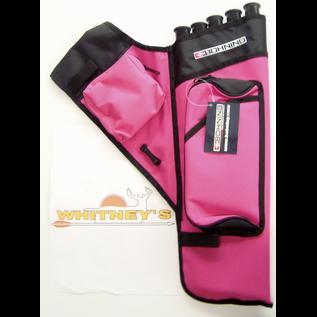Bohning Company, LTD Bohning Adult 5 Tube Hip Quiver, Pink- 1687