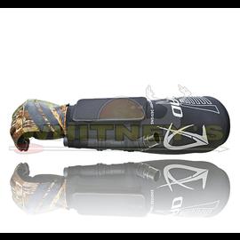 Quality Archery Design QAD Ultra Armguard - Custom Spandex Compression Sleeve W/Mesh Cell Pocket - Black