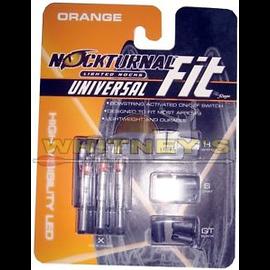 Nockturnal Nockturnal Universal Fit - Lighted Nock-Orange- NT-315