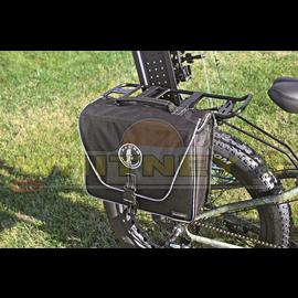Alliance/Rambo Bikes Rambo Black Single Sided Saddle Bag