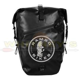 Alliance/Rambo Bikes Rambo Black Waterproof Accessory Bag (Half)-R154
