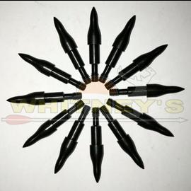 Saunders Archery Saunders Point-Combo - Small Diameter - 17/64 125 Gr. - Dozen