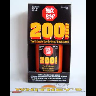 Buck Stop Lure Company Buck Stop 200 Proof