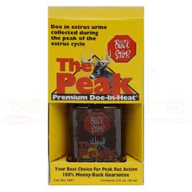 Buck Stop Lure Company Buck Stop The Peak Premium Doe-In-Heat
