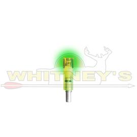 Burt Coyote Co., Inc. Burt Coyote Lumenok Excalibur Firebolt Flat Bolt End - Green